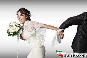 عروس و داماد برهنه دستگیر شدند +عکس