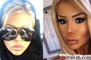 واکنش طنز کاربران به حضور کندی چارمز بازیگر زن هالیوودی در ایران! عکس