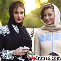 تیپ بازیگران زن بدحجاب در جشنواره حافظ ۹۵