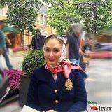 خوش گذرانی خانم بازیگر ایرانی در خارج از کشور +عکس