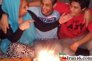 بازیگر زن مشهور ایرانی در جشن تولدی در تگزاس آمریکا! + تصاویر