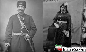 حرمسرای ناصرالدین شاه روی تی شرت + عکس
