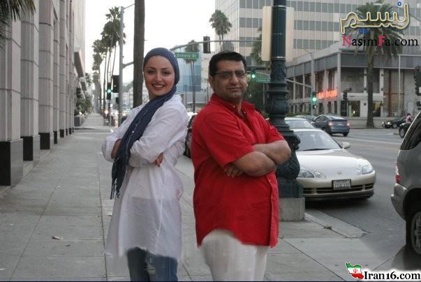خوشگذرانی بازیگر زن مشهور ایرانی