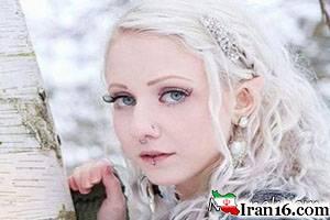 عکس های باورنکردنی از دختر گرگی 16+