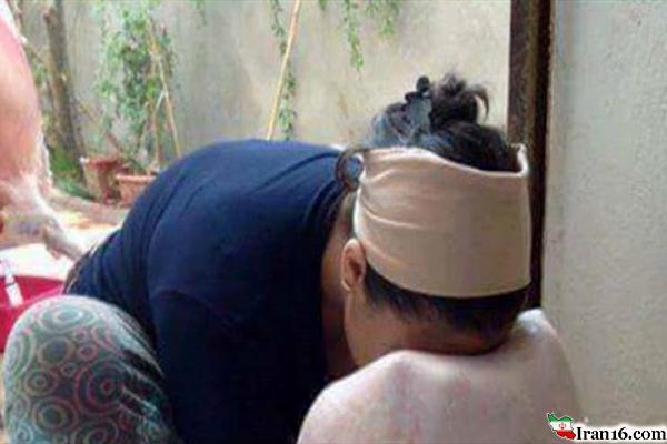 عجیب ترین و احمقانه ترین روش برای مقابله با بی شوهری+ عکس