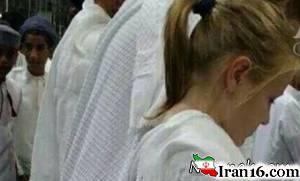 این زن بی حجاب در مراسم حج کیست؟ + عکس