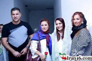 علی دایی و همسرش در کنار کارگردان زن مشهور ایرانی+عکس