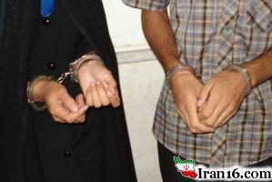 دستگیری دو بازیگر زن و مرد کشورمان درحالت غیرعادی بخاطر کشتن یک کارگر!