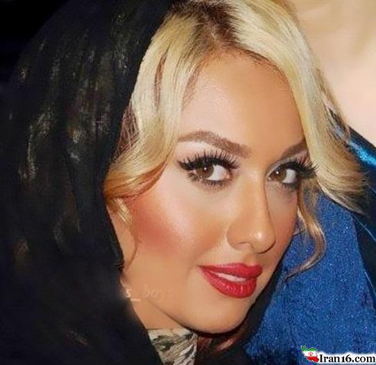 عکس: صدف طاهریان مدل آرایشی شد