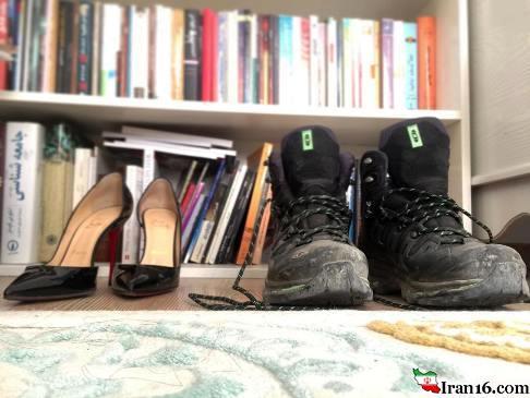 کفش, عکس,انتشار ,الناز شاکردوست