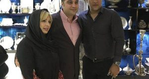 بازیگر زن مشهور و همسرش درکنار علی دایی+عکس