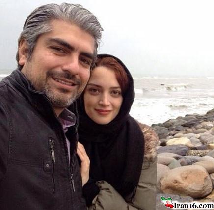 سلفی خاص بازیگر زن و مرد ایرانی لب ساحل! +عکس