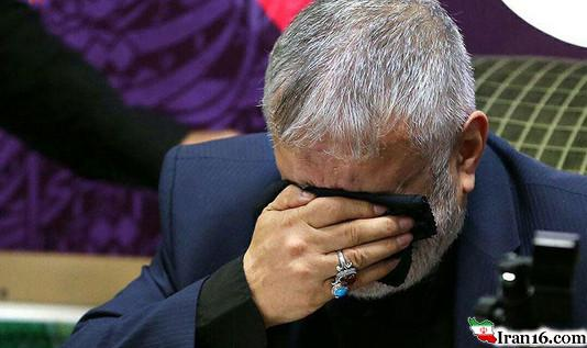 حاج منصور ارضی شب هفتم محرم 95