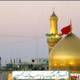 عکس/ پدیدار شدن لکههای خون بر روی سنگ دیوار حرم امامحسین(ع)