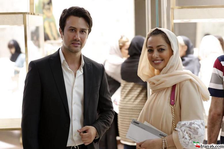 حضور بازیگر زن ایرانی در جواهر فروشی بازیگر مرد معروف! +عکس