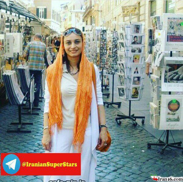 خوشگذرانی بازیگرزن پولدار ایرانی در فرانسه+عکس