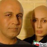 سر تراشیده خاطره حاتمی و رضا عطاران! + عکس