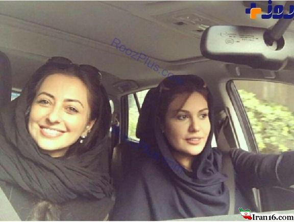 ماشین ، خیابان ، تهران ، فرشته ، خوشگذرانی ، بازیگر ، زن ، ایرانی