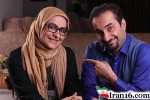 نیما کرمی و همسرش زینب زارع در بین الحرمین