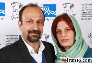 سلفی اصغر فرهادی بغل همسرش در آنتالیا