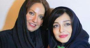 مهناز افشار, ساره بیات و محمدرضا گلزار در مهمانی خصوصی سریال عاشقانه