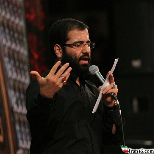 مداحی حاج حسین سیب سرخی شب تاسوعا محرم ۹۵
