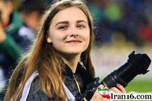 تصویری از دختر روس که عکاس ویژه سردار آزمون است