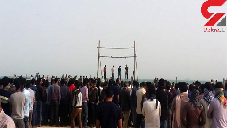 اعدام 4 جوان به خاطر آزار و اذیت دختر نوجوان در قشم + عکس