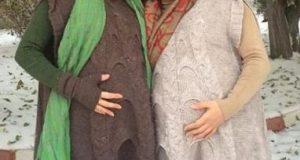 بارداری همزمان بازیگر زن و خواهرش + عکس