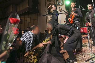 تصاویر جنجالی از کنسرت در قم
