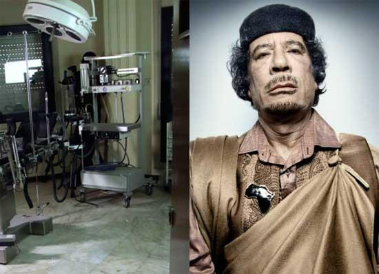 اتاق جنسی قذافی دیکتاتور سابق لیبی کشف شد+عکس