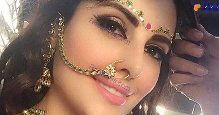دختر زیبای ایرانی که در هند بازیگری ومدلینگ می کند+تصاویر