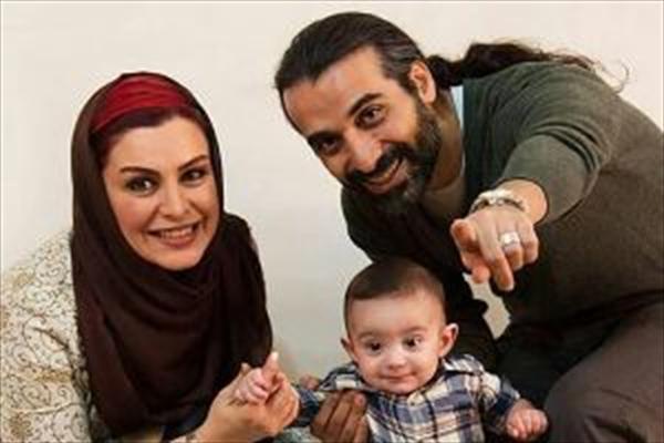 خانم بازیگر به همراه همسر و فرزندش در ترکیه! +عکس