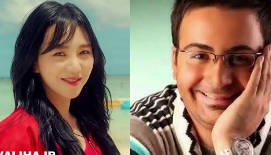 حامد تهرانی ازدواج با مینا کوآن بازیگر زن کره جنوبی را تکذیب کرد + فیلم