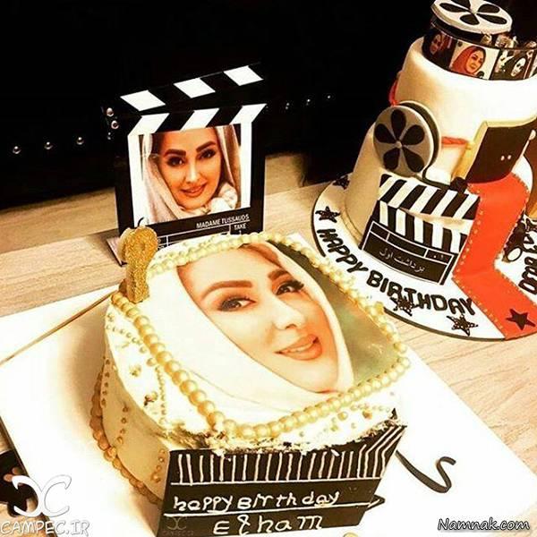 کیک تولد و میهمانی خاص بازیگر زن مشهور+تصاویر