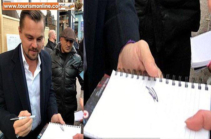 امضاء جالب بازیگر مشهور سوژه شد! +تصاویر