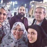 بازیگر زن ایرانی شبکه جم در مشهد+ببینید