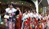 تصاویری جالب از جشن بلوغ دختران ژاپنی