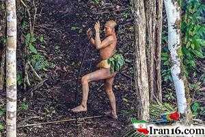عکس های لو رفته از مردم لخت و برهنه جنگل آمازون