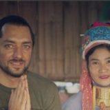 بهرام رادان بغل زن تایلندی در قبیله عجیب | عکس