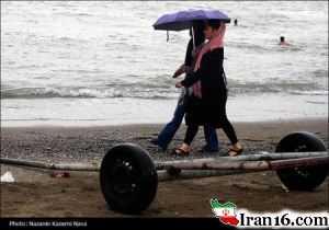 خوشگذرانی ایرانی ها در سواحل دریای خزر (عکس لورفته)