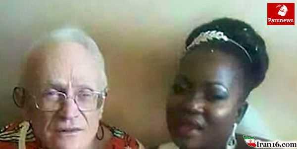ازدواج دختر 29 ساله با پیرمرد 92 ساله / عکس