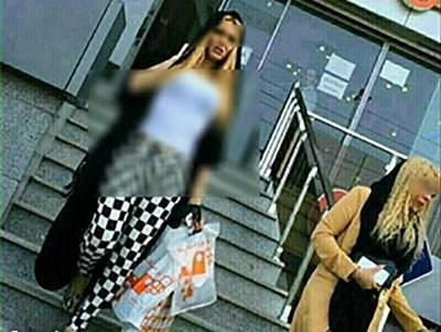 عکس های نیمه عریان دختران تهرانی در ملاء عام