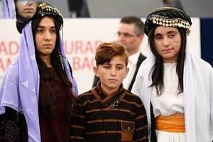 هدیه زنان ایزدی برده جنسی داعش