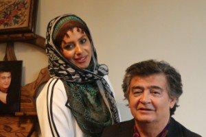 جشن تولد 70سالگی رضا رویگری در کنار همسرش! عکس