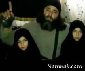 تروریست داعشی که دخترش را منفجر کرد + عکس