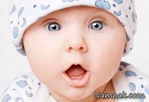 قلب روی پیشانی یک نوزاد! + عکس