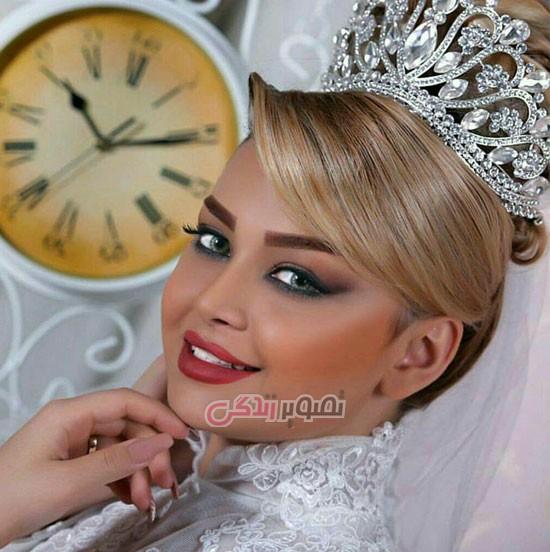 Makeup-Chignon-hair-bride