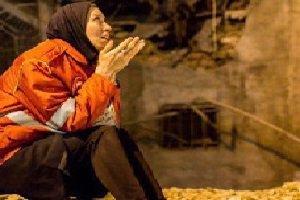 همسر آتش نشان مدفون شده زیر آوار+ عکس