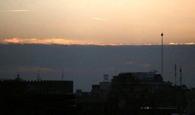 جنگنده های نیروی هوایی برای امنیت تهران به آسمان برخواستند + عکس